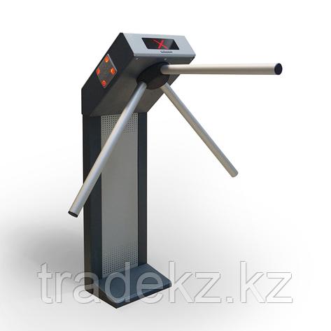 Турникет электромеханический трипод со встроенными считывателями STRAZH 02, фото 2