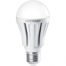 "Лампа СВЕТОЗАР светодиодная ""LED technology"", цоколь E27(стандарт), теплый белый свет (2700К), 220В, 12Вт (100"