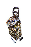 Сумка-тележка, 35 * 95 см, цвет коричневый