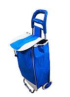 Сумка-тележка, 35 * 95 см, цвет синий
