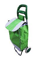 Сумка-тележка, 35 * 95 см, цвет зеленый
