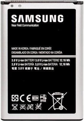 Заводской аккумулятор для Samsung Galaxy Note 3 N9000 (B800BE, 3200mAh)