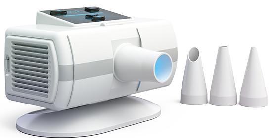 Комплектация данного бактерицидного облучателя включает 3 сменных тубуса для воздействия на разные органы