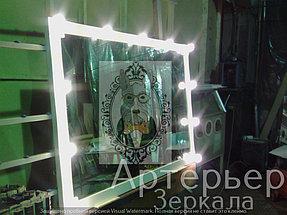 Визажное зеркало для парикмахерской 1