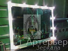 Визажное зеркало для парикмахерской 2