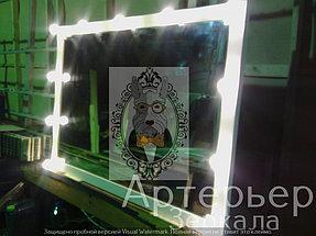 Визажное зеркало для парикмахерской 3