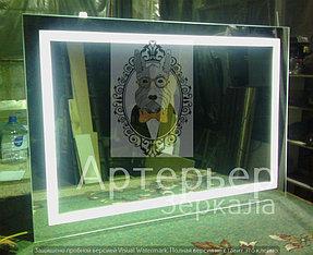 Большое зеркало с подсветкой, категория Эконом 3