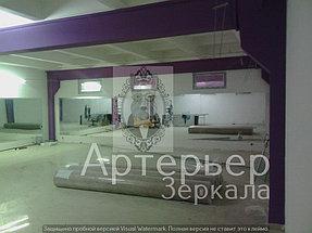 Установка зеркал для спортивного зала 1