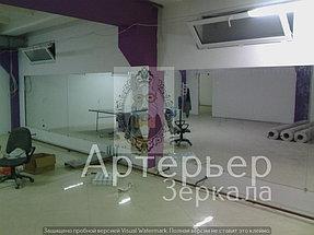 Установка зеркал для спортивного зала 5