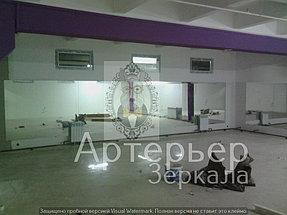 Установка зеркал для спортивного зала 6