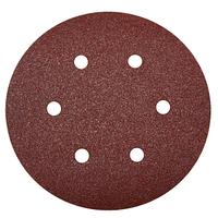 """(35566-150-040) Круг шлифовальный ЗУБР """"МАСТЕР"""" универсальный, из абразивной бумаги на велкро основе."""