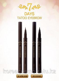 Подводка для бровей Tony Moly 7DAYS Tatoo EYEBROW