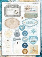 Набор чипборда BLUE SEA
