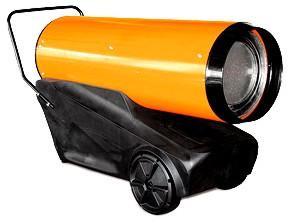 Дизельные тепловые пушки прямого нагрева (с пластиковым баком)