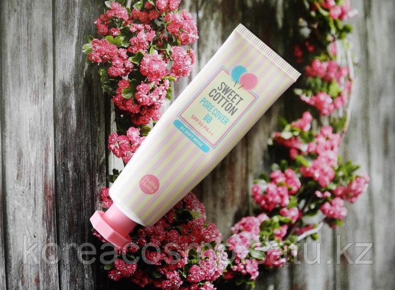 ББ-крем с экстрактом хлопка HOLIKA HOLIKA Sweet Cotton Pore Cover BB