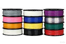 ДОПОЛНИТЕЛЬНЫЕ НАБОРЫ цветного пластика.   160м ABS/PLA пластика в различных цветах +