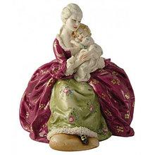 Фарфоровая статуэтка Материнство. Ручная работа, Италия