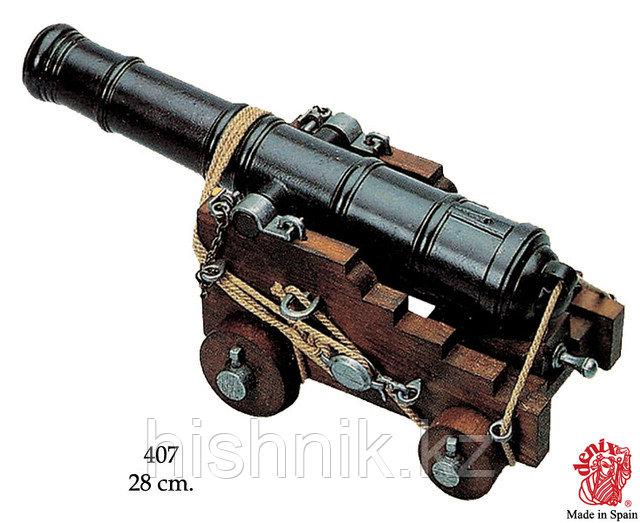 Британская корабельная  пушка, 18 век