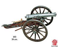 Пушка гражданской войны США, 1861 г, фото 1