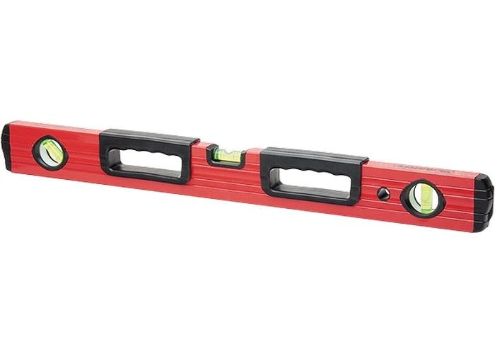 (33221) Уровень алюминиевый, 600 мм, фрезерованный, 3 глазка, 2 эргономичные ручки// MATRIX