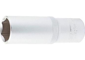 """(13847) Головка торцевая удлиненная, 14 мм, 6-гранная, CrV, под квадрат 1/2"""", // STELS"""
