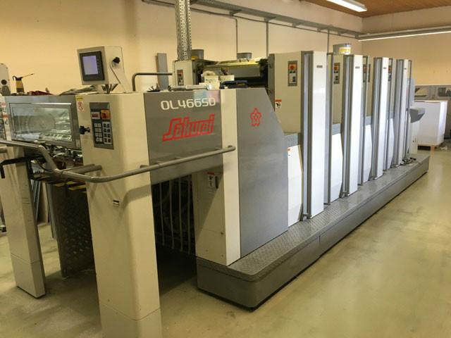 Sakurai 466 SD HP б/у 2007г - четырехкрасочная печатная машина