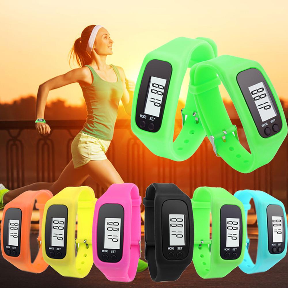Шагомер-браслет - Часы, шаги, дистанция, расход калорий