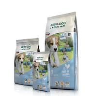 Сухой корм для щенков любых пород до 4-х мес, а также для собак мелких пород до 12 мес. Bewi-Dog Puppy