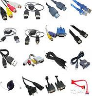 Кабели USB,HDMI,DVI,VGA,патчко...