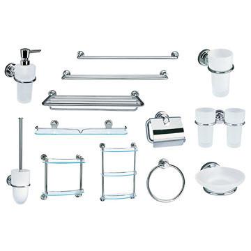 Аксессуары для туалетных и ванных комнат
