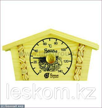 Термометр для бани и сауны Избушка, 230х125х25 мм