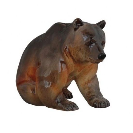 Фарфоровая статуэтка Медведь бурый. ИФЗ