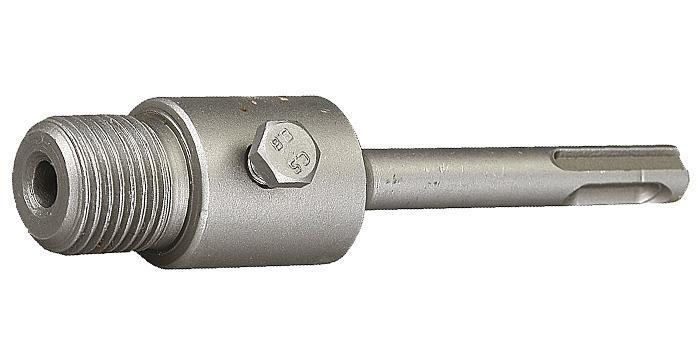 """(29187-100) Державка ЗУБР """"МАСТЕР"""" для бур.коронки с хвостовиком SDS Plus.L-100мм, резьба М22."""