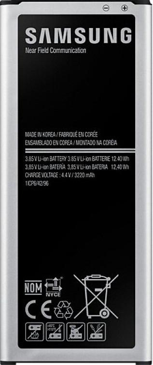 Заводской аккумулятор для Samsung Galaxy Note 4 N910, без NFC модуля (EB-BN910BBEGRU, 3220 mah)
