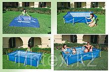 Каркасный сборный бассейн Intex Rectangular Frame Pool  300 х 200 х 75 см.