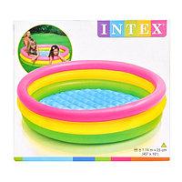 Надувной детский бассейн Intex 114*25 см, фото 1