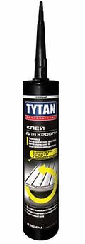 TYTAN Professional клей для кровли (290 мл) серый