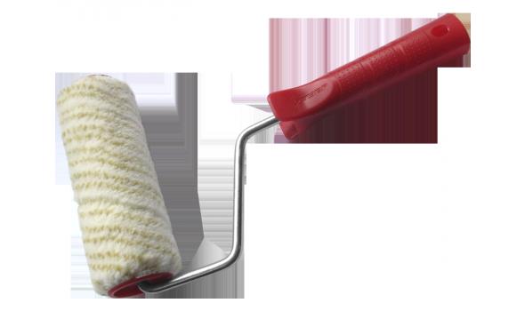 """(03505-24_z01) Валик ЗУБР """"МАСТЕР"""" СИНТЕКС малярный в сборе, полиакрил., бюгель 6мм., 40 х 240 мм"""