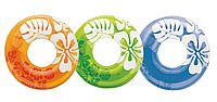 Intex Надувной круг БЛЕСТЯЩИЙ с ручками, (асс. 3 цвета), диаметр 76 см, фото 1