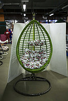 Подвесное кресло, высота 200 см, салатовый