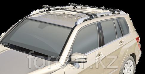 """Багажная система """"LUX"""" КЛАССИК с дугами 1,4м прямоугольными в пластике для а/м с рейлингами, фото 2"""