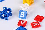 Настольная игра Конструктор с буквами Буквус, фото 3