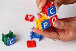 Настольная игра Конструктор с буквами Буквус, фото 5