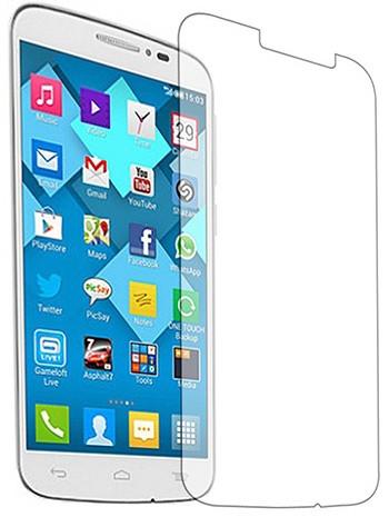 Противоударное защитное стекло Crystal на Alcatel One Touch Pop C7