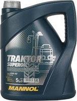 Моторное масло MANNOL Traktor Superoil 15W40 SG/CD 5L