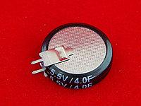 Ионистор 5.5В 4Ф (25*6.5 мм)