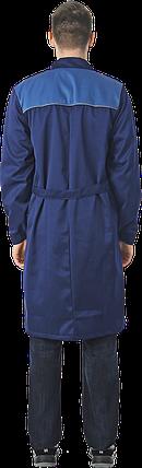 ХАЛАТ синий, фото 2