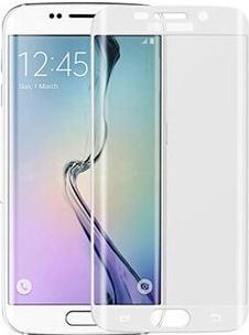 Противоударное защитное 3D стекло на Samsung Galaxy S7 edge (прозрачное)
