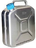 Канистра алюминиевая 10 литр