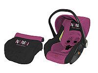 Автокресло Bertoni Lifesaver 0-13 кг Розовый-черный / Black&Rose 1502